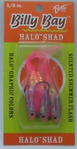 Betts 888-8-3-4 1/8 Oz Billy Bay Halo Shad Pink 20687