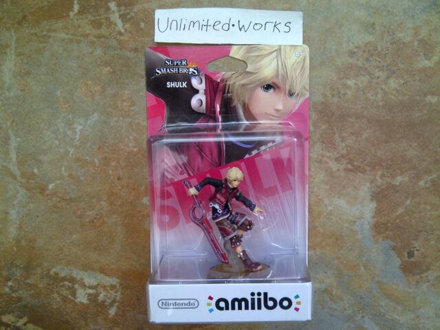 Super Smash Bros Amiibo (Shulk) Nintendo Wii U & 3DS New Sealed US Version
