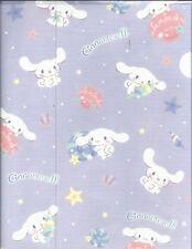 Sanrio Cinnamoroll Folder Portfolio Side Open Plastic Purple
