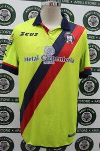 Maglia-calcio-CROTONE-MATCH-WORN-shirt-trikot-camiseta-jersey