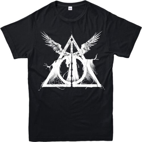 Harry Potter T-Shirt Deathly Hallows Three Brothers Tale Adult /& Kids Tee Top