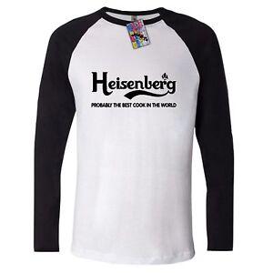 506a2663f BREAKING BAD long sleeve t shirt HEISENBERG WALTER WHITE best cook ...