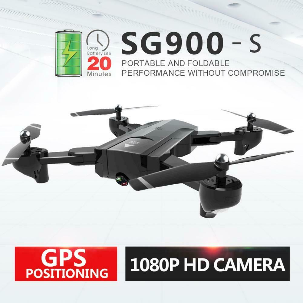 SG900-S GPS 20 FP Quadcopter med 1080P HD Kamera Auto Return GPS WIFI FPV RC
