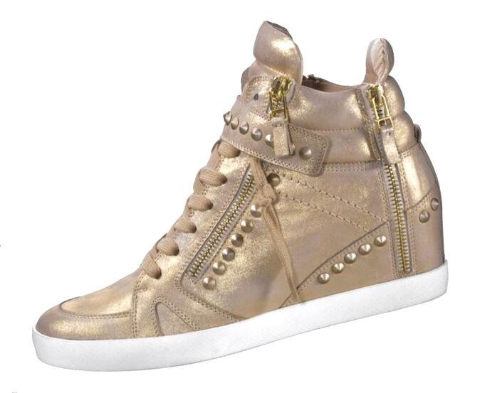 Keilstiefeletten Gr.7,5 GOLD KENNEL&SCHMENGER Wedges Stiefeletten Sneaker NP
