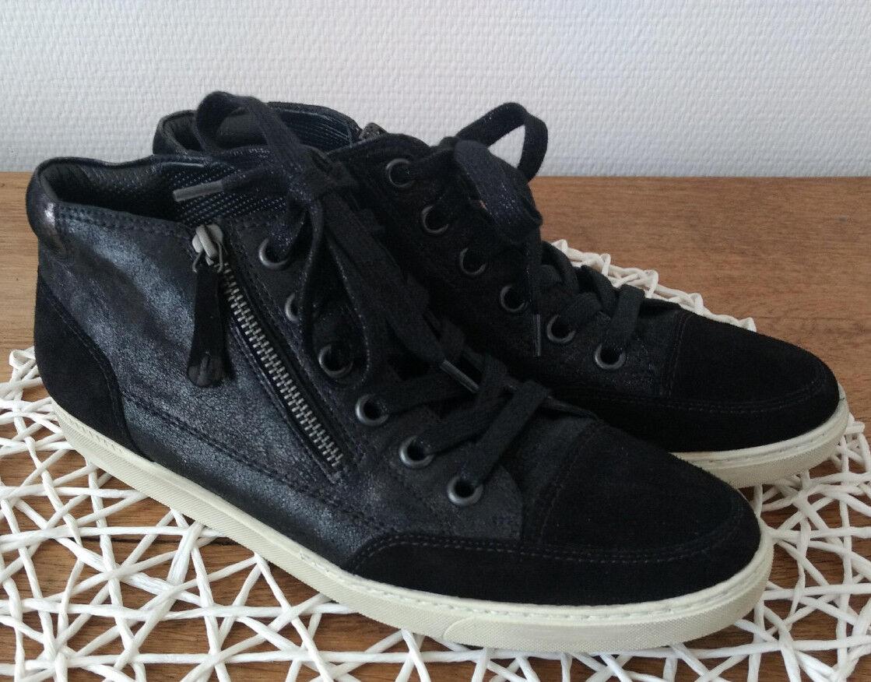 Verkaufe tolle Paul Green (8), Sneaker, schwarz, Größe 42 (8), Green Top Zustand 41e85e