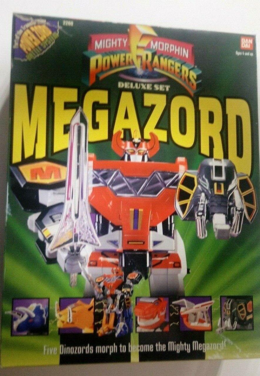 Mighty Morphin Power Rangers 2260 deluxe Set megazord in original box MMPR