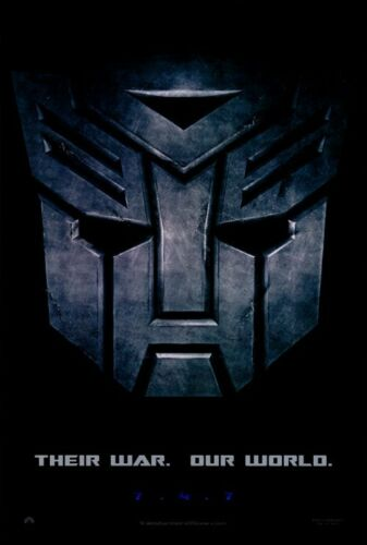 """2007 TRANSFORMERS Movie Poster Licensed-NEW-USA 27x40/"""" Theater Size C"""