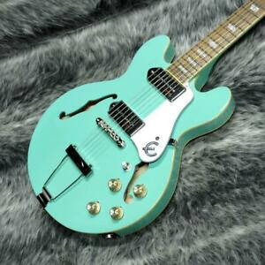 Epiphone Casino Coupe Turquoise Small Size Feeling / Guitar List.2088