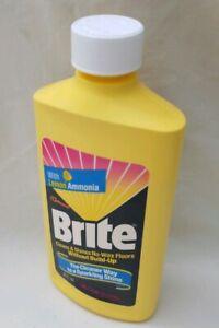 Vintage-1991-SC-Johnson-Brite-Floor-Cleaner-EMPTY-Bottle-USA-Movie-Prop