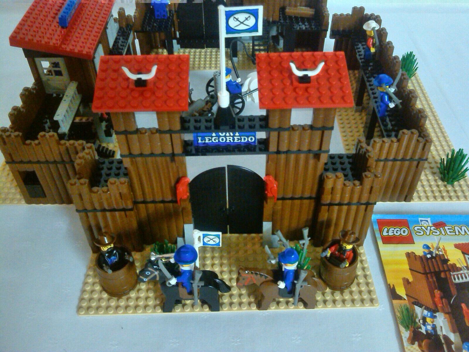 Lego 6769 Western  Fort Legorugeo 100% komplett mit OBA Anleitung Kavallerie Burg  livraison et retours gratuits