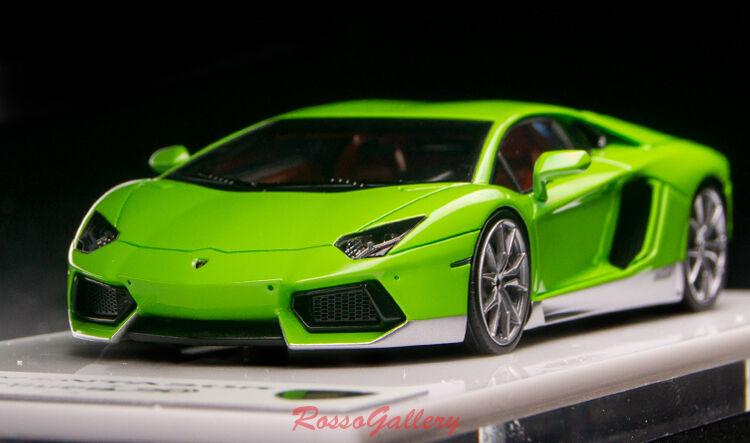 Lamborghini Aventador Miura homenaje Maquillaje 2018 Verde LimaPlata EM362E
