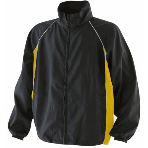 Mens Finden Hales Shower Water Proof Full Zip Training Jacket