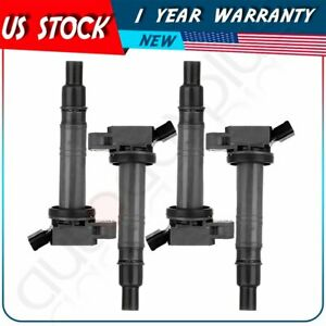 pack of 4 New Ignition Coil For Lexus Scion Toyota 4Runner Tacoma UF495 C1426