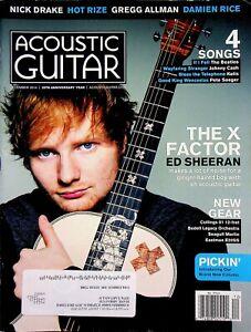 Acoustic Guitar Magazine December 2014 The X Factor Ed Sheeran m597