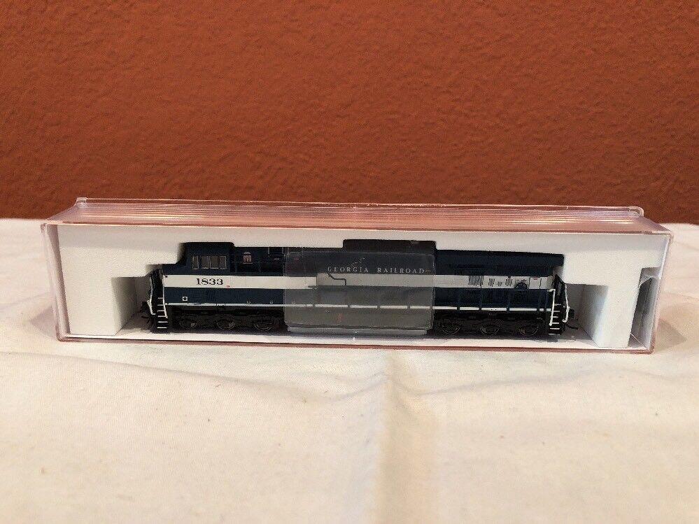 salida para la venta Escala N Fox Valley Models Loco 70008 70008 70008 GE-ES44-G1 Georgia RR RD 1833 Dcc Listo Nuevo  orden ahora disfrutar de gran descuento