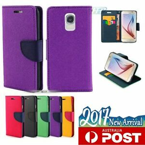Galaxy-S8-Plus-S6-S7-Edge-Case-Gel-Flip-Leather-Wallet-Cards-Cover-For-Samsung
