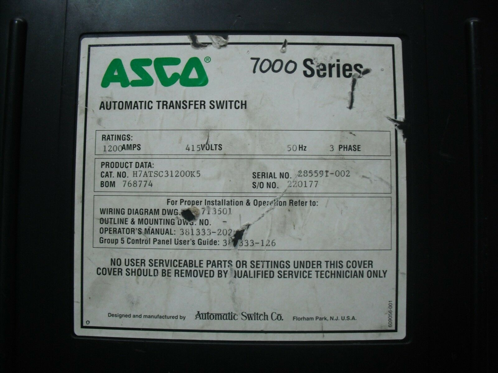 Asco 7000 Series Automatic Transfer Switch Ebay Control Wiring Diagram Norton Secured Powered By Verisign