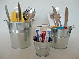 8-x-Galvanised-Steel-Serving-Buckets-Food-Presentation-Chip-Fries-Bucket