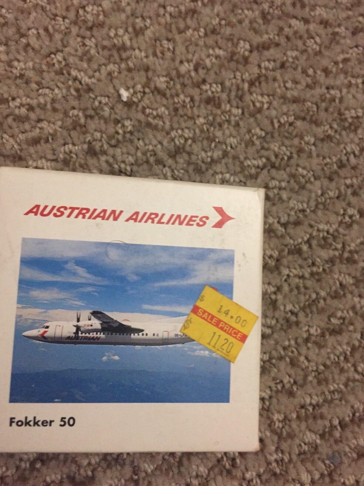 Herpa 1 500 500 500 Fokker 50 australian 460232