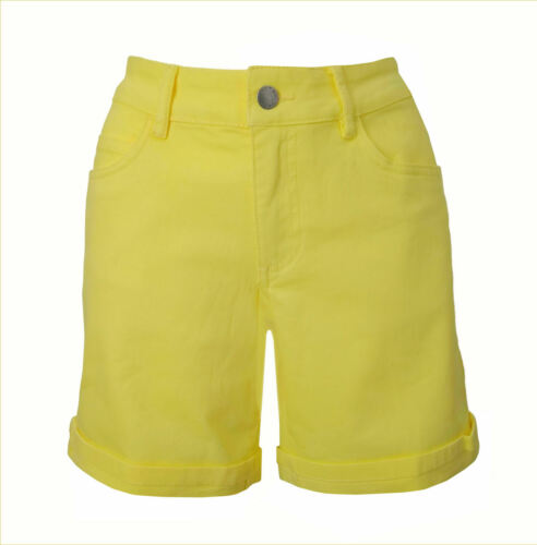 TCM Tchibo Short Femmes Jeans Pantalon Court Bermuda Été Pants court stretch jaune