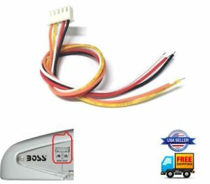 High level speaker input plug wire harness 5-pin 5pin memphis audio PRX SRX amp