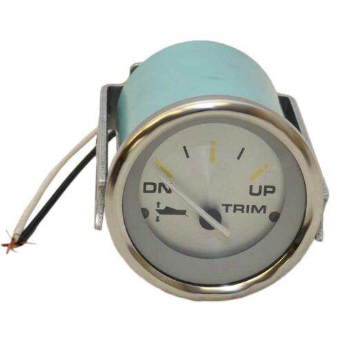 Teleflex Marine Trim Gauge 68262Honda Silver 2 Inch