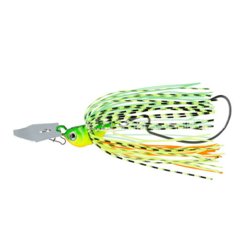 Chatterbait Blade Jig Fishing Bait with Rubber Skirt Fishing Lures Tackle US #