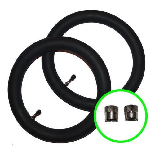 """2 x BUGABOO CAMELEON Pushchair Straight Valve Stroller Inner Tubes 12 1//2/"""""""