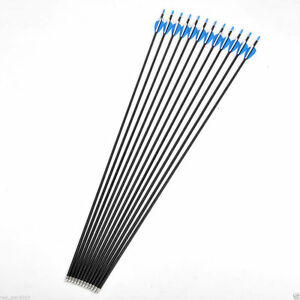 32-034-Carbon-Arrow-Spine-500-Hunting-Archery-Arrows-for-Recurvebow-12pcs