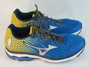 size 40 04cf0 5ea00 Details about Mizuno Wave Rider 18 Running Shoes Men's Size 11.5 US  Excellent Plus Condition
