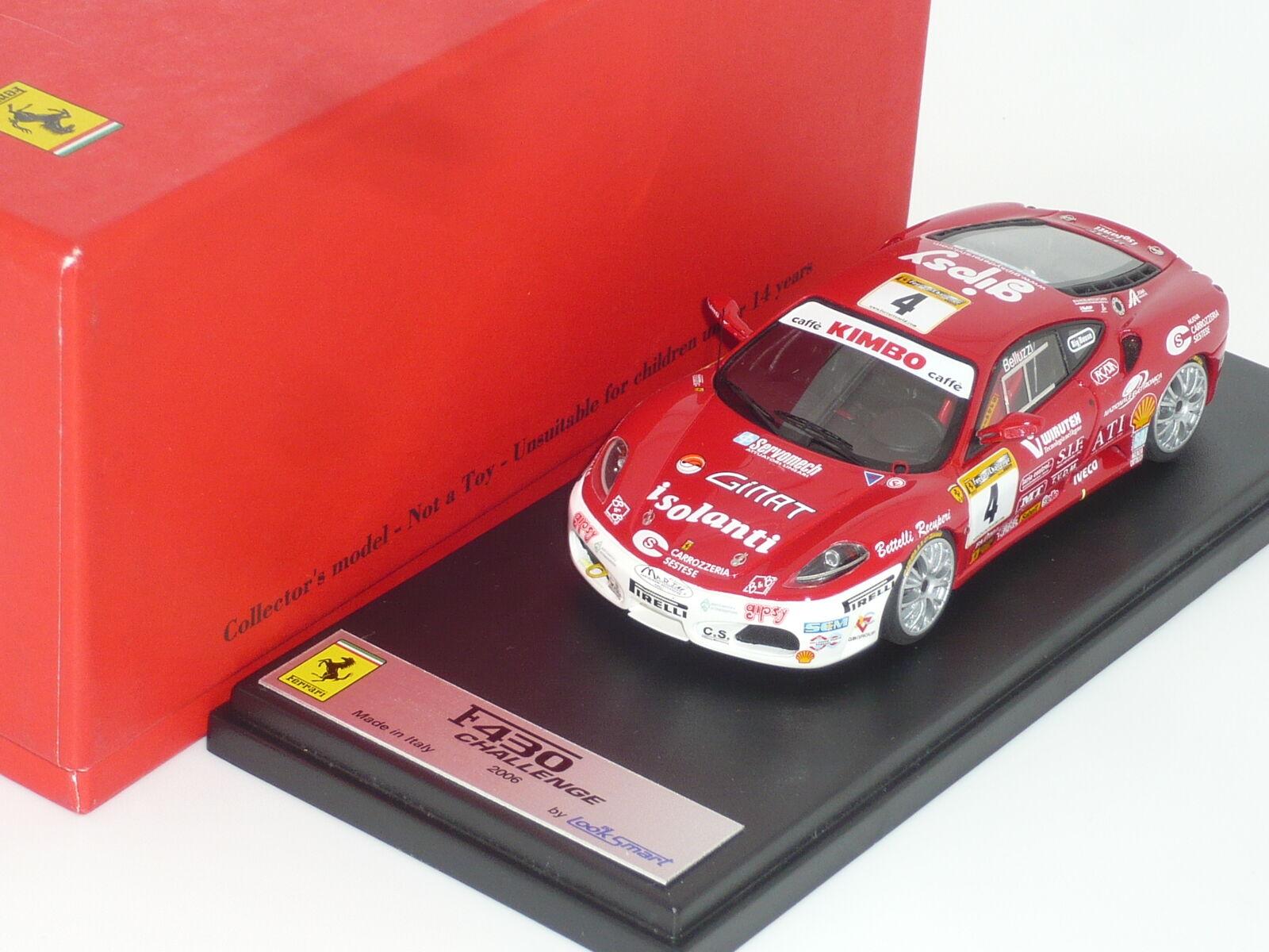venta con alto descuento Nuevo Nuevo Nuevo 1 43 LookSmart Resina HANDBUILT Ferrari F430 Challenge V8 Race Coche n Le Mans  oferta de tienda