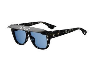 48ae66e7bd Image is loading sunglasses-Dior-Havana-black-blue-DIORCLUB2-color-code-