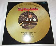 BIG TINY LITTLE Golden Piano Hits Record 1977 LP AUTOGRAPHED Signed GNPS 2113