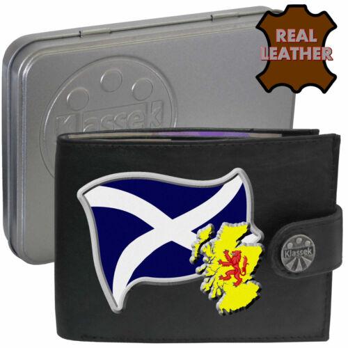 Scotland St Andrew/'s Flag Map Scottish Klassek Leather Wallet Scots Gift present