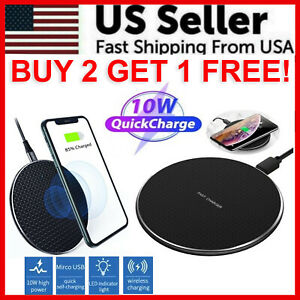 Qi-Wireless-Fast-Charger-Charging-Pad-Dock-for-iPhone-Samsung-Android-Cell-Phone