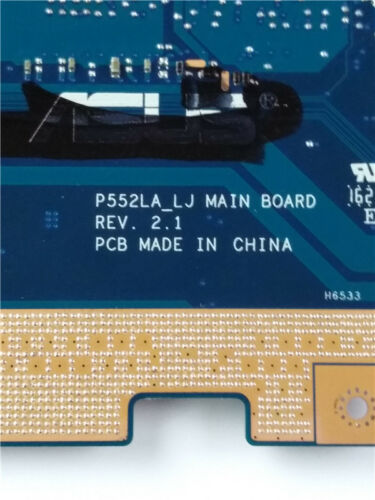 P552LA Motherboard For ASUS P552LJ P552L Laptop W// i3-5010U REV 2.1 Mainboard