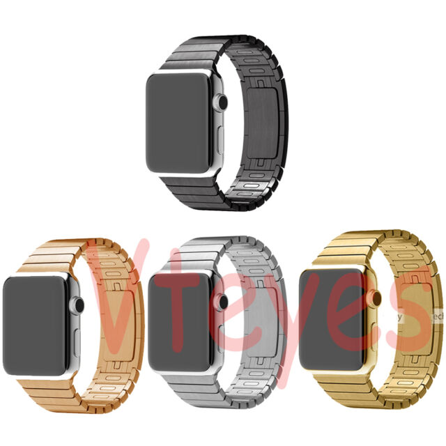 1:1 Butterfly Link Bracelet Stainless Steel Strap Watch bands For Apple Watch