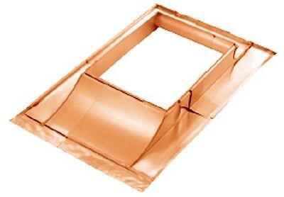 Kupfer Kamineinfassung/kaminverwahrung Br.50-90cm üBerlegene Materialien neu