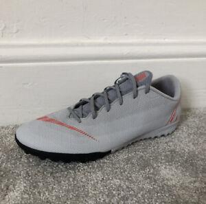 Taille-10-Nike-Mercurial-Vapor-X-12-gris-Astro-Turf-Baskets-Football-UE-45