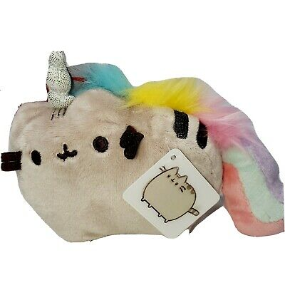 Pusheen The Facebook Cat Unicorn Pusheenicorn Molded Zip Coin Purse