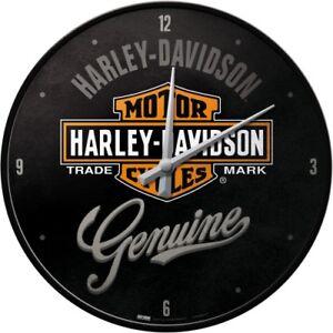 harley davidson wanduhr original biker uhr retro werkstatt. Black Bedroom Furniture Sets. Home Design Ideas