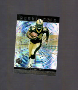 Ricky Williams 1999 Upper Deck Holo GrFX Rookie Card New Orleans Saints Texas RC