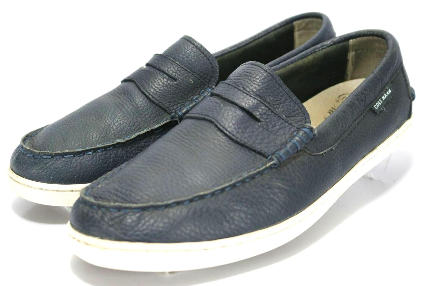 Cole Haan Men's Pinch Weekender  120 Penny Loafers Size 9.5 bluee