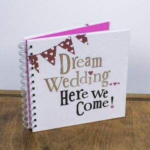 Dream wedding here we come wedding planner book diary image is loading dream wedding here we come wedding planner book junglespirit Choice Image