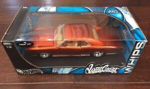 Details about Hot Wheels West Coast Customs Whips '66 Pontiac GTO 1:18, Die  Cast, MISB