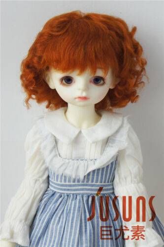 9-10inch 23-25CM Baby Wave Sophia Mohair Doll Wigs Blythe Size Doll Hair 2 color