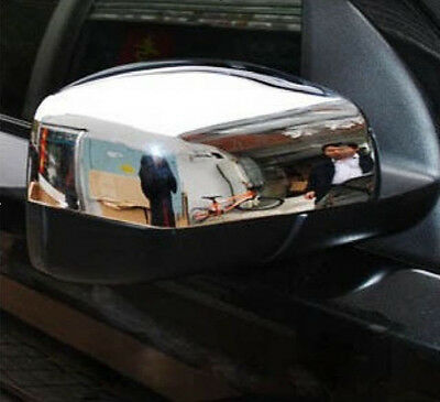 2PCS Chrome Side Rear View Mirror Covers for 2006-2009 Land Rover Discovery 3
