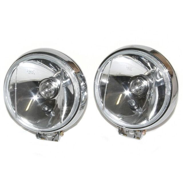 2x 12V 55W 4/'/' H3 Bulbs Motorcycle Car Van Halogen Spot Fog Light Lamp