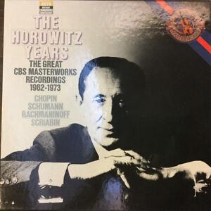 BOX-3-LP-33-Vladimir-Horowitz-The-Horowitz-Years-The-Great-CBS-Masterworks-Rec