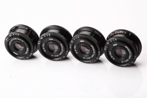 US Seller Industar 50-2 50mm f3,5 Russian Bokeh portrait Lens DSLR M42 Mount Old